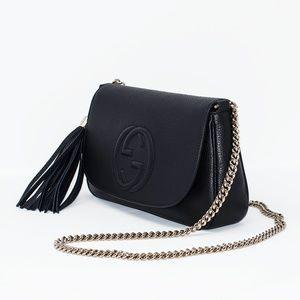 e5d91281dec82e Gucci Bags | New Medium Borsa Soho Chain Leather Bag | Poshmark